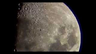 Big Black UFO Crossing the Moon (pay close attention to the last one)