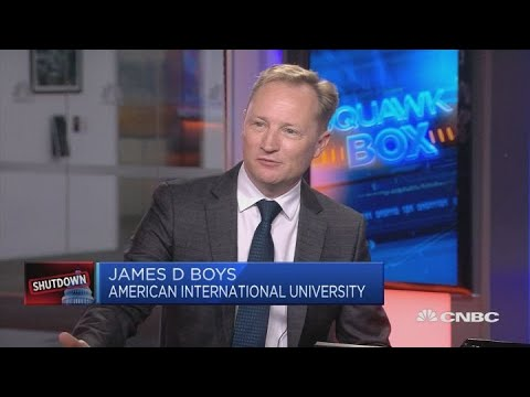 US government shutdown could have global impact, academic says | Squawk Box Europe