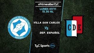Villa San Carlos vs Dep.Espanol full match