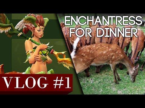 VLOG #1 - Enchantress For Dinner