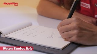 Wacom Bamboo Slate digitalizza gli appunti su carta