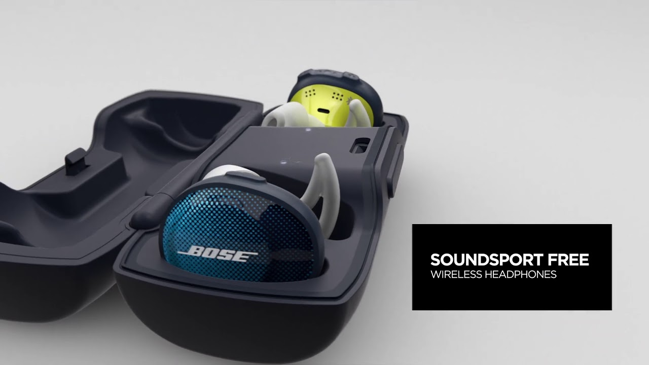Bose SoundSport Free Headphones   No wires  No stopping you