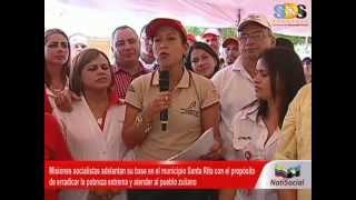SABADO Y DOMINGO ROJO DE MISIONES EN EL MUNICIPIO SANTA RITA