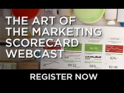 The Art of the Marketing Scorecard