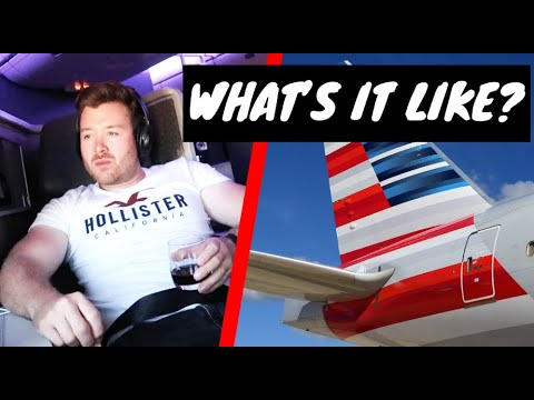 AMERICAN AIRLINES FLAGSHIP BUSINESS CLASS REVIEW - Boeing 777-200