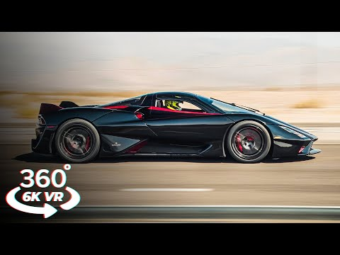 Experience the World's FASTEST Production Car – SSC Tuatara in 360° VR