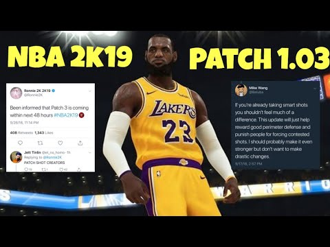 patch notes nba 2k19 1.02