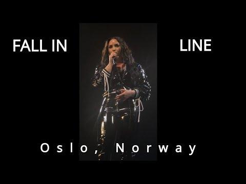 Demi Lovato B♭5 (Fall in Line) Best live performance: Oslo