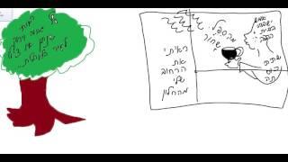 Урок иврита с Броней   Сама рисую и сама сочиняю. Сиеста.