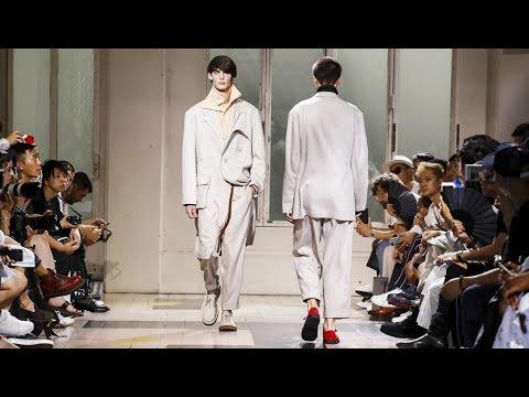 Yohji Yamamoto | Spring Summer 2018 Full Fashion Show | Menswear