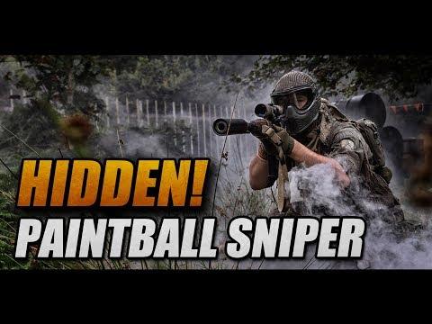 HIDDEN SNIPER: Paintball sniper OMG!!!