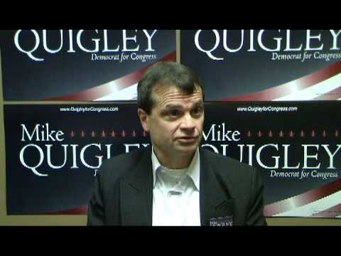 Mike Quigley on his Congressional race