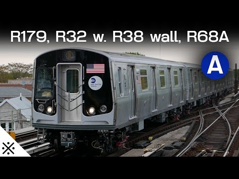 An Evening of Rare Trains (R179 + Protection, R32 3381, R68A)