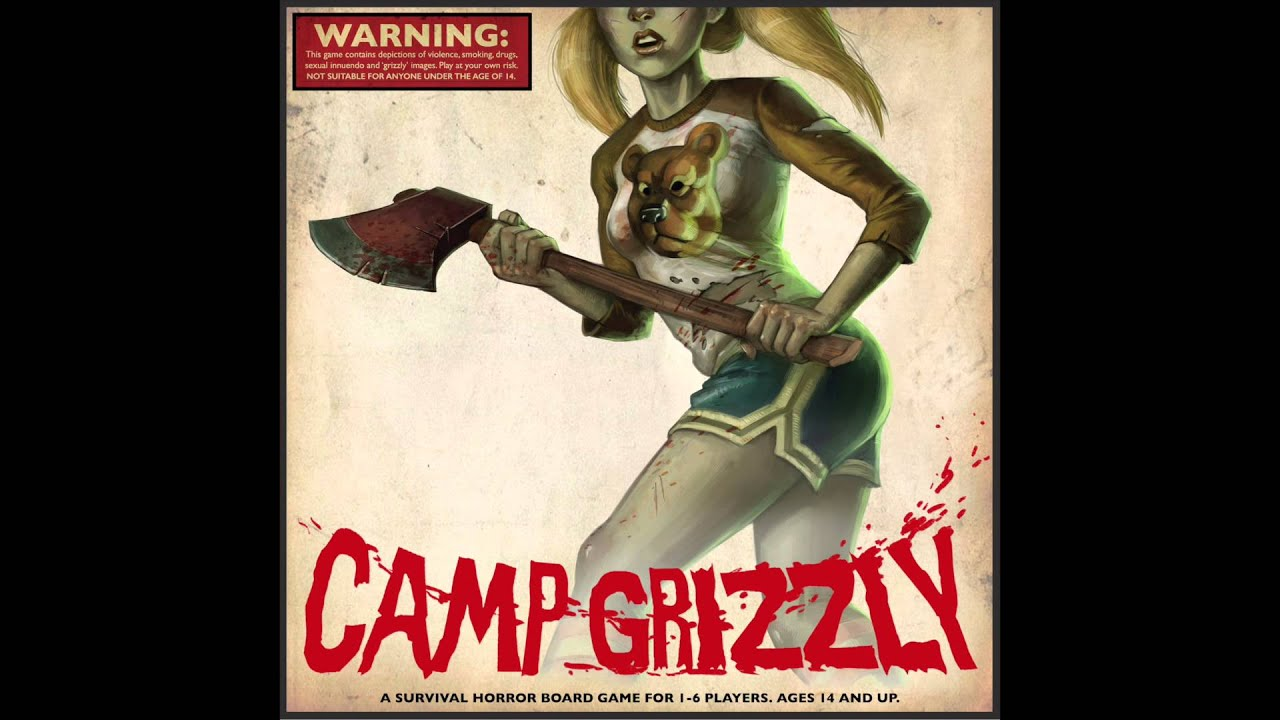 Camp Grizzly Footsteps In The Dark In Progress Youtube