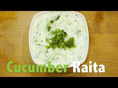 Cucumber Raita  I Chefharpalsingh