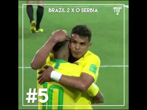 Neymar Jr - Assistências 2018