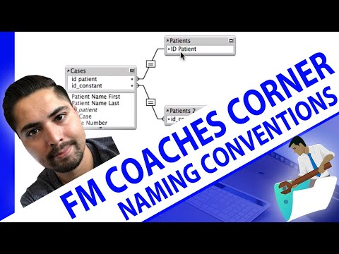 FileMaker Coaches' Corner - Tip 1 - Relationships - Naming Conventions