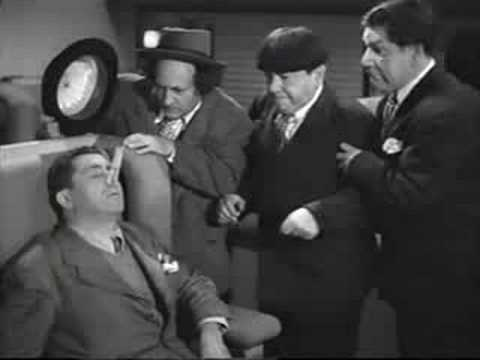 Three Stooges- Curly Cameo