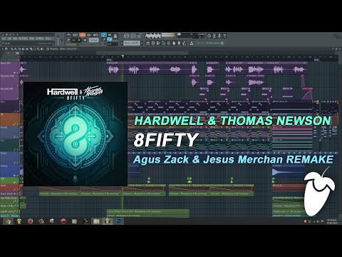 Hardwell & Thomas Newson - 8Fifty (Original Mix) (FL Studio Remake + FLP)