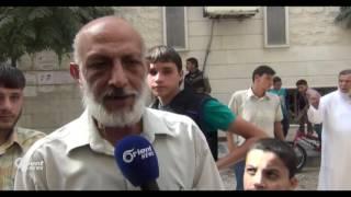 أهالي الغوطة الشرقية ينددون بالتهجير القسري لأهالي ريف دمشق