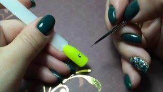 ВЕНЗЕЛЯ: техника исполнения и варианты композиции на ногтях | olesyages | NAILS