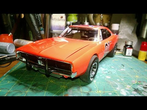1 16 scale general lee model 39 69 dodge charger youtube. Black Bedroom Furniture Sets. Home Design Ideas