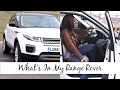 What's In My Car?! | Range Rover Evoque 2016 Review