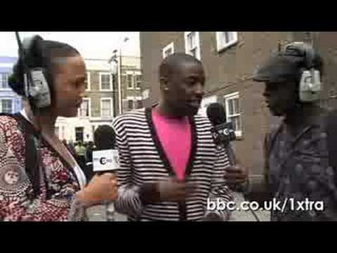 1Xtra: Bashy, Notting Hill Carnival interview 2008