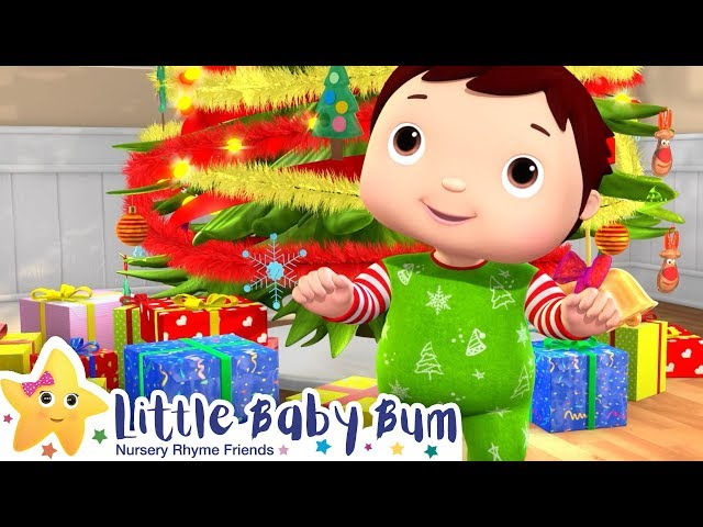Christmas Finger Family Song - Christmas Songs | Nursery Rhymes | ABCs and 123s | Little Baby Bum