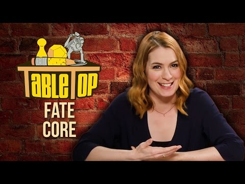 TableTop: Wil Wheaton Plays FATE CORE w Felicia Day, John Rogers, & Ryan Macklin