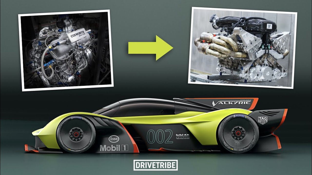 This is how you develop a V12 from a 3-cylinder engine