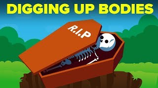 What Happens When You Dig Up A Body