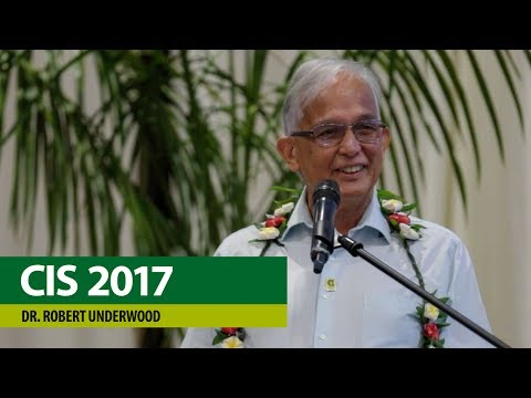 CIS Conference 2017 – Dr. Robert Underwood, Opening Remarks