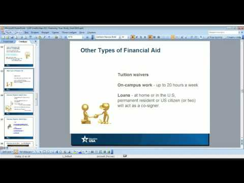 ONLINE: 120 Credits Step 2(1) Graduate. Finance Your Study in the U.S.A.