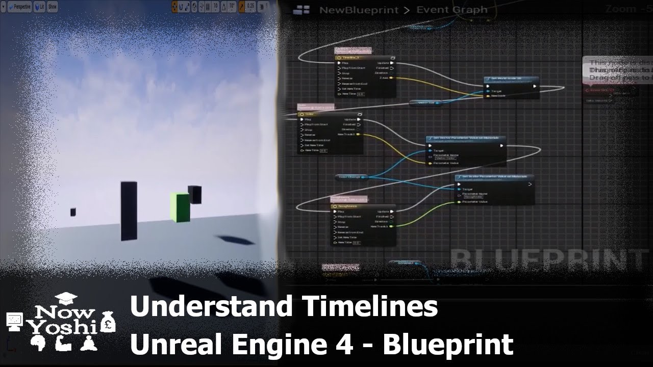 Beginners tutorial timelines blueprint unreal engine 4 youtube beginners tutorial timelines blueprint unreal engine 4 malvernweather Image collections