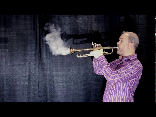 Breath Visualizations with Musical Instruments