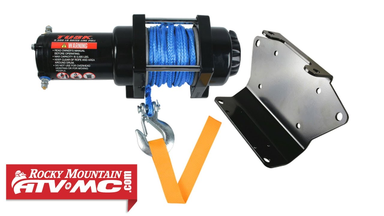 Tusk Atv Winch Installation Youtube Yamaha Grizzly 600 Wiring Diagram