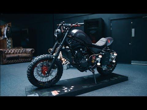 Honda Rebel Our Custom Build Debuts At Bike Shed London