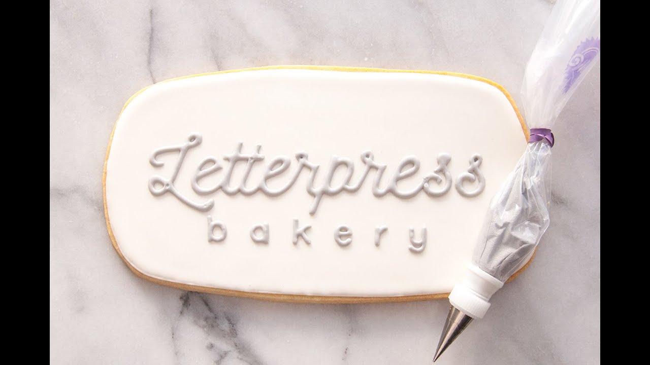the letterpress bakery youtube
