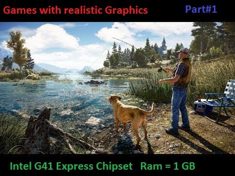 Top 5 Games For 1GB Ram And Playable On Intel G41 Express Chipset And  1 Gb Ram(Part#1)