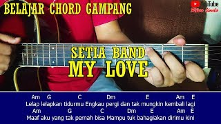 Download Setia Band - My Love (TUTORIAL CHORD MUDAH)
