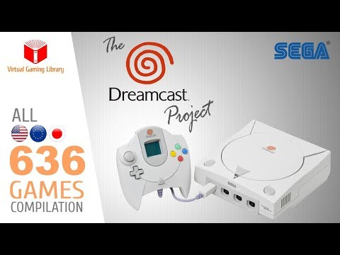 The Dreamcast Project - All 636 DC Games - Every Game (US/EU/JP)