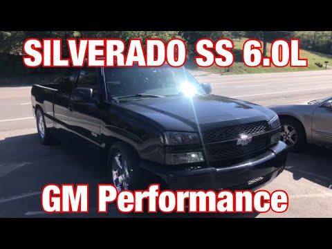 2005 Chevy Silverado SS 6.0L TURN DOWN EXHAUST W/ X-Pipe & GM Performance Mufflers!!