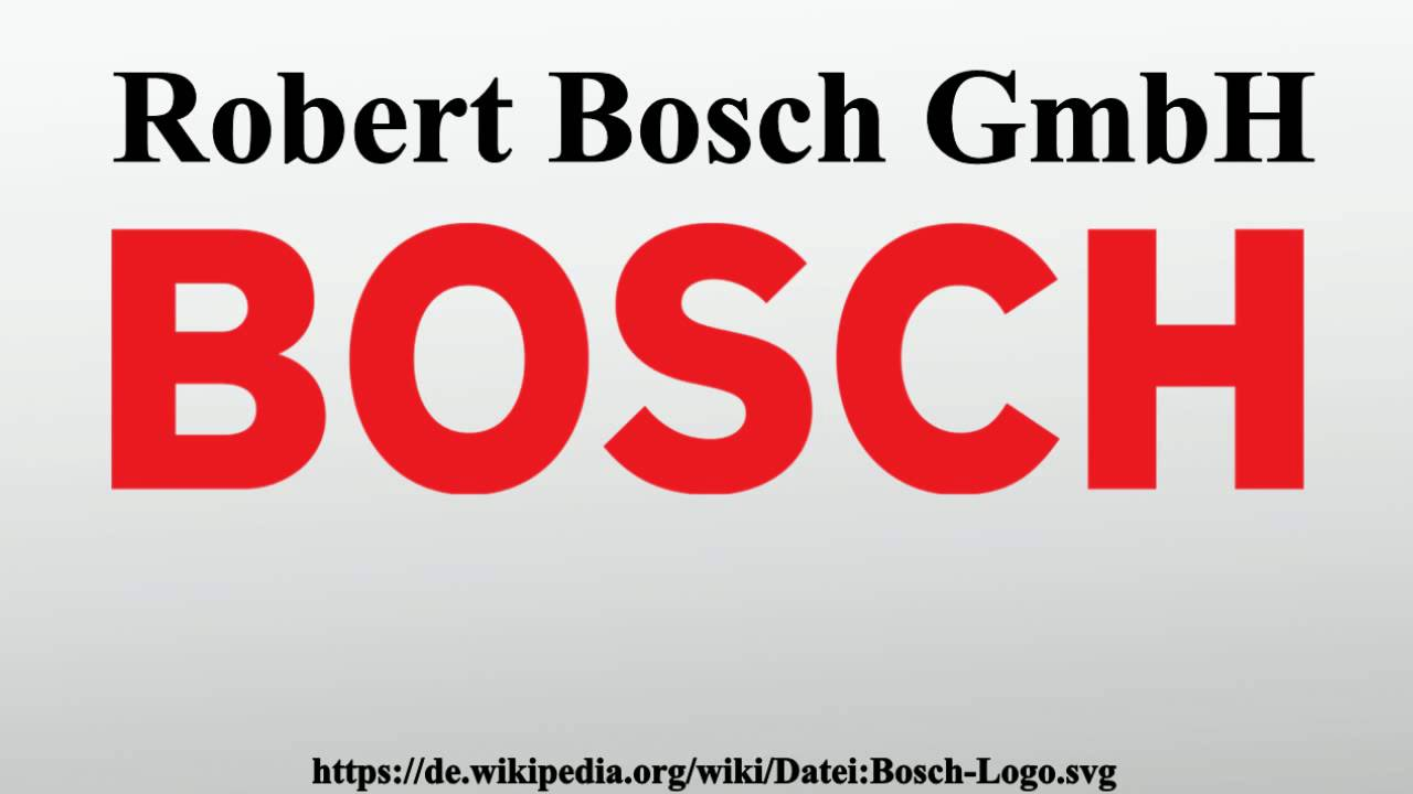robert bosch gmbh youtube. Black Bedroom Furniture Sets. Home Design Ideas