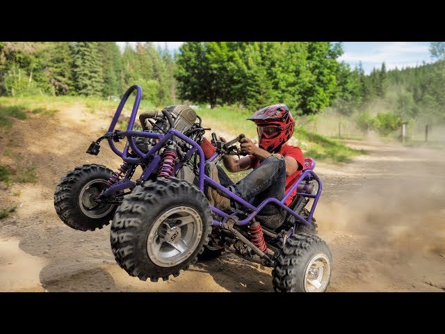 50HP Barbie Jeep Gets A Rekluse Clutch+Front I-Beam Suspension
