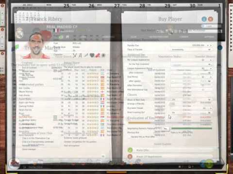 FIFA Manager 13 - How To Play + Money Cheat