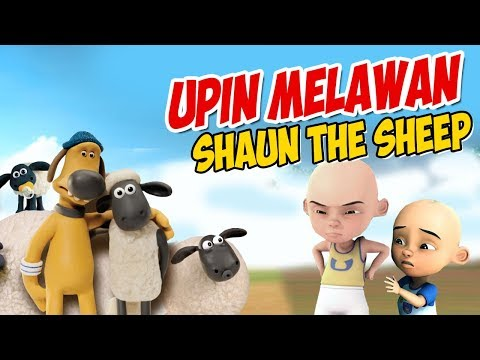 upin-ipin-melawan-shaun-the-sheep-,-ipin-takut-!-gta-lucu