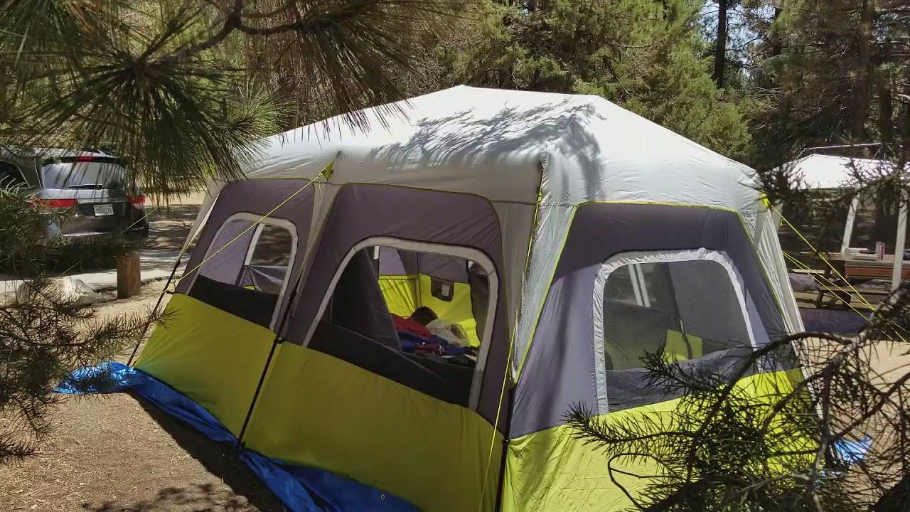 sale retailer f6a5b 99a45 Core Equipment 10-person instant tent review.