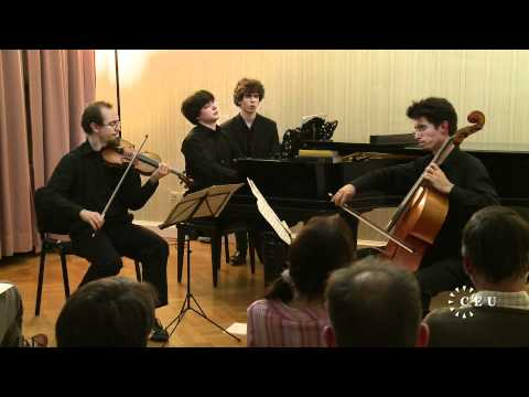 Opening night of CEU's Artists in Residence program continues with Dvorak