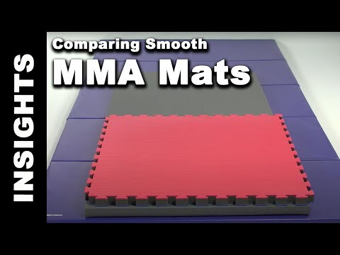Comparing Smooth MMA Mats - Puzzle, Folding & Traditional Mats